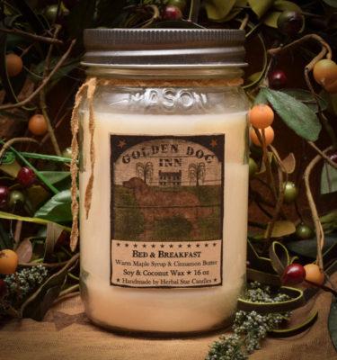 Bed and Breakfast 16 oz Jar Candle