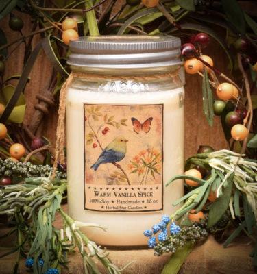 Warm Vanilla Spice 16 oz Jar