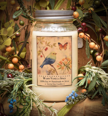 Warm Vanilla Spice 24 oz jar