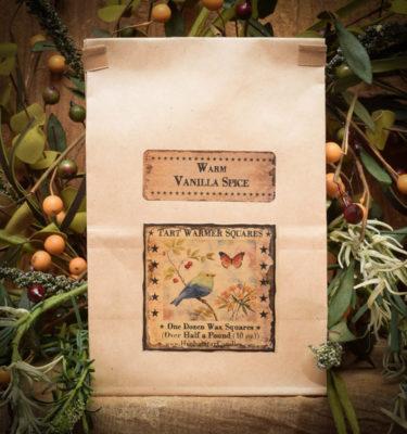 Warm Vanilla Spice Bag of 12 tarts