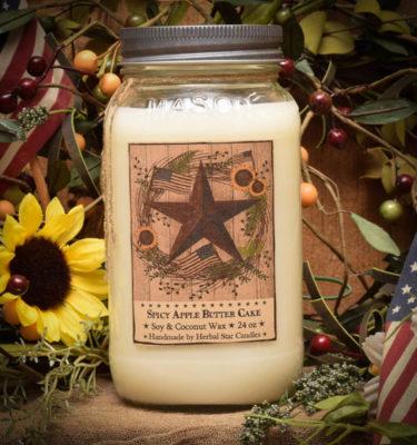 Barn Star Spice 24 oz jar candle