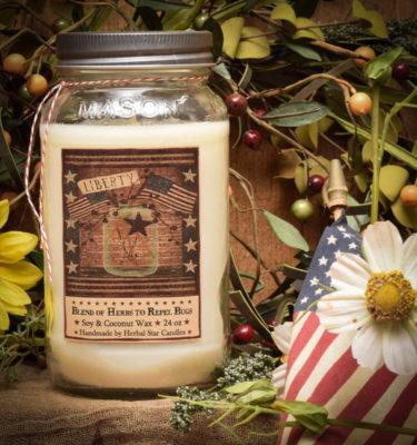 Liberty Bug Repellent candle-24 oz