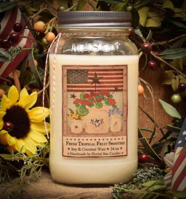 summer celebration 24 oz jar