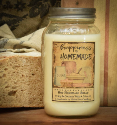 Hot Homemade Bread 24 oz Jar Candle