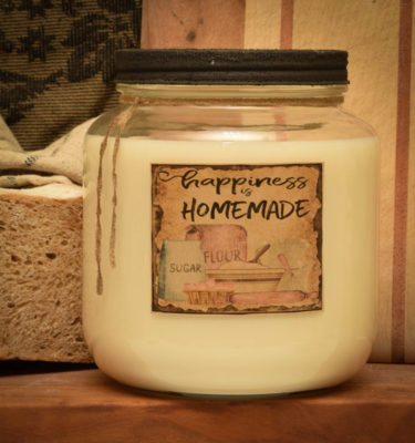 Hot Homemade Bread 64 oz Jar Candle