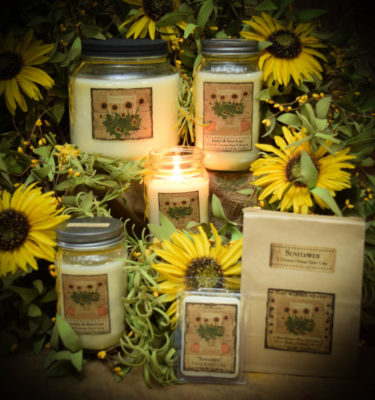 Sunflower Candle Collection