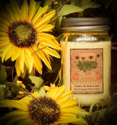 Sunflower 16 oz Jar Candle