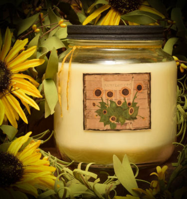 Sunflower 64 oz Jar Candle