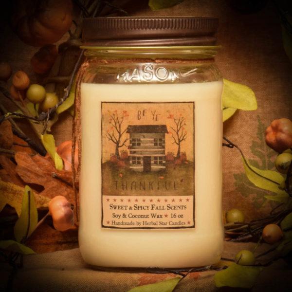 Autumn Splendor 16 oz Jar candle