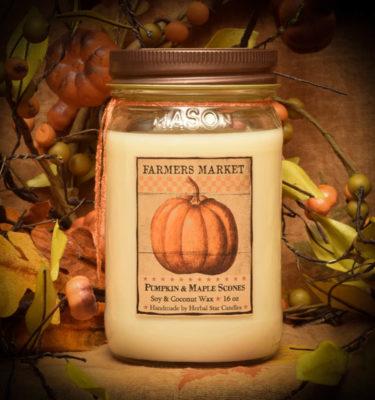 Pumpkin Maple Scones 16 oz Jar