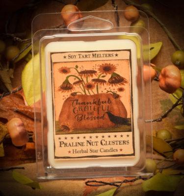 Praline Nut Cluster Mini Tart