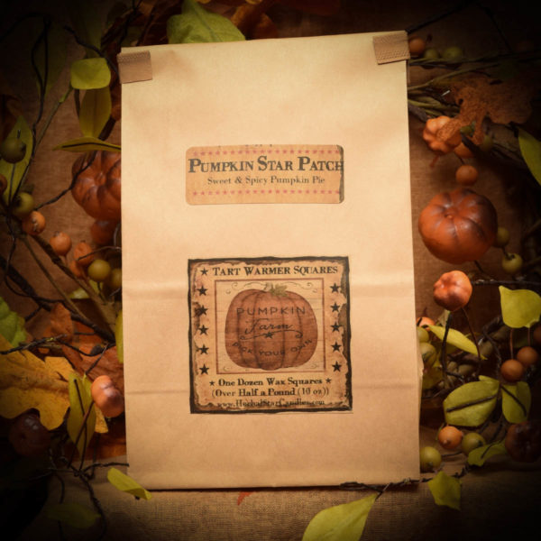 Pumpkin Star Patch bag of 12 tart squares