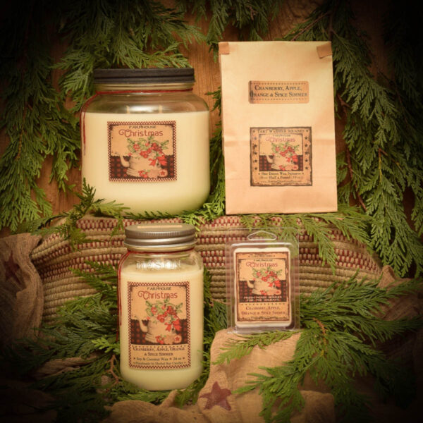 Cranberry Spice Simmer collection