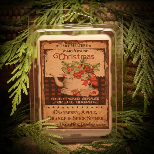 Cranberry Spice Simmer mini pack of 6 tarts
