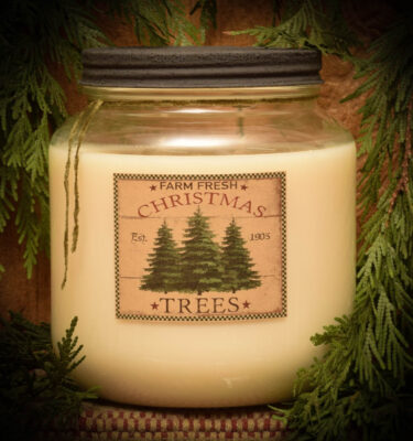 Pine Star Shine with Woodsy Bayberry 64 oz Jar Candle