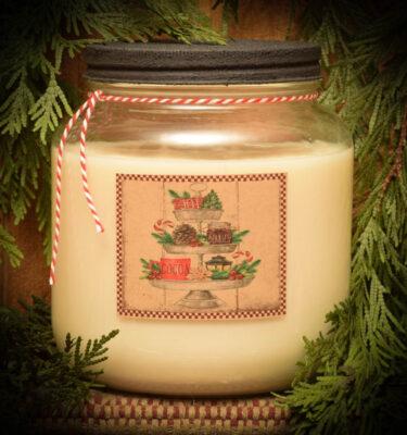Vanilla Mint with Chocolate 64 oz jar candle