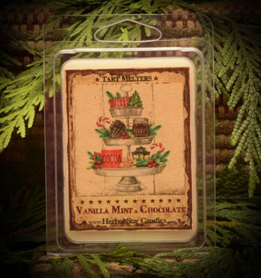 Vanilla Mint with Chocolate Mini pack of 6 tarts
