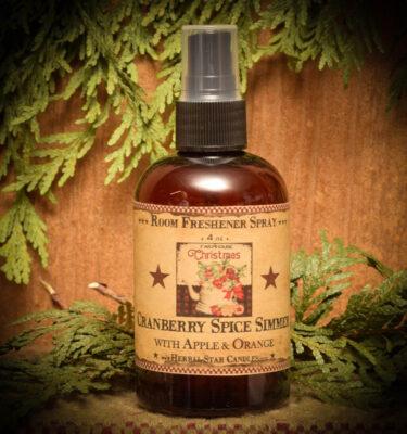 Cranberry Spice Simmer Room Spray