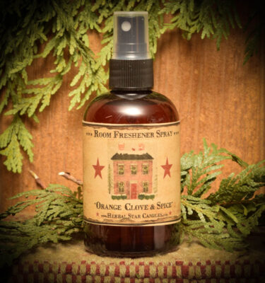 Orange Clove & Spice Room Spray