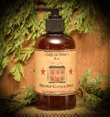 Orange Clove & Spice Liquid Soap