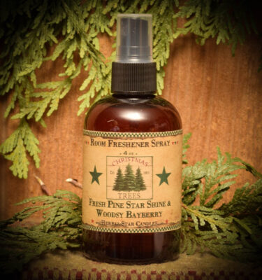 Pine Star Shine and Woodsy Bayberry Room Spray